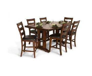 Bob's Enormous Counter 7 Piece Dining Set