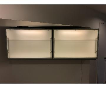 Valcucine Wall Mounted Cabinet