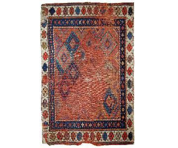 Antique 1880s Persian Kurdish Rug