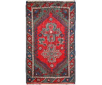 Antique 1920s Turkish Anatolian Rug