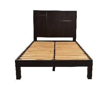 West Elm Metal Inlay Full Size Bed