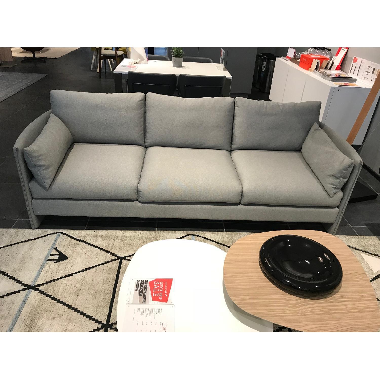 Calligaris Urban 3 Seater Sofa In Light Grey Aptdeco