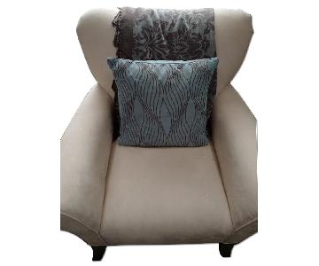 Microsuede Arm Chair