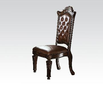 Acme Vendome Dining Side Chair in Cherry
