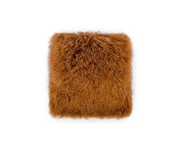 TOV Furniture Tibetan Sheep Copper Pillow