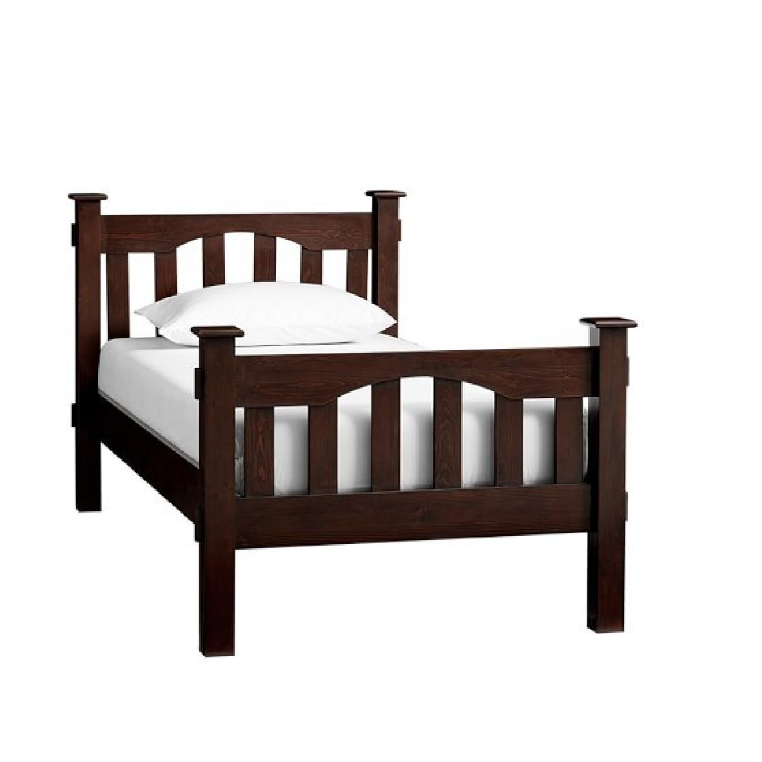 Picture of: Pottery Barn Kids Kendall Twin Bed Frame Aptdeco