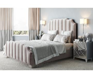 TOV Furniture Natalie Beige Linen King Bed