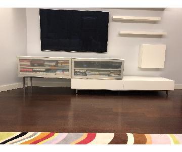 BoConcept Lugano 2-Piece Media Cabinet