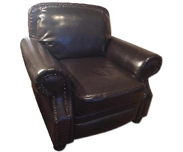 Jennifer Convertibles Leather Armchair