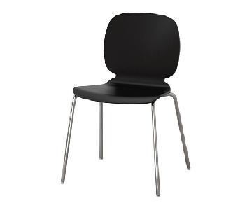 Ikea Svenbertil Black Chrome Plated Chair