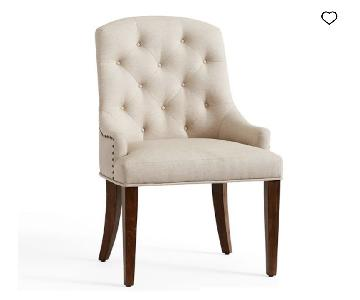 Pottery Barn Lorraine Tufted Chair