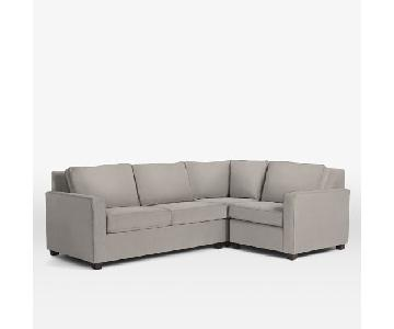 West Elm 3-Piece Henry Sectional Sofa