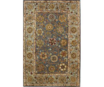 Bashian Rajput Collection Denim Color Area Rug