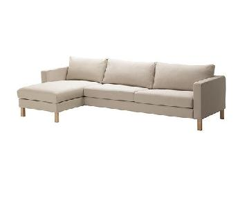 Ikea Karlstad 2-Piece Sectional Sofa