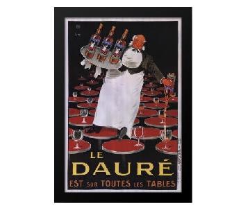 Framed Le Daure Art Poster by Lotti