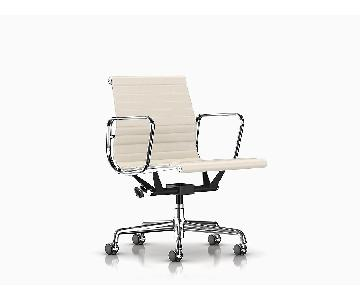 Herman Miller Eames Aluminum Group Executive Chair in White
