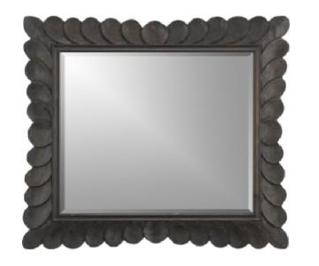 Crate & Barrel Feather Mirror