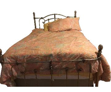 Cast Iron Twin Size Bed Frame