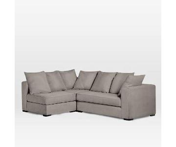 West Elm Walton 3-Piece Sectional Sofa