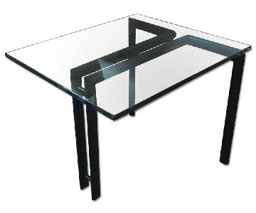 Glass Stacking Side Tables