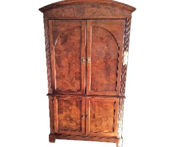 Old Hickory Entertainment Center Armoire