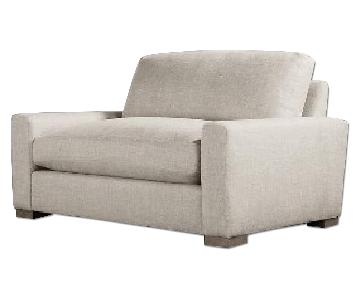 Restoration Hardware Maxwell Collection Loveseat