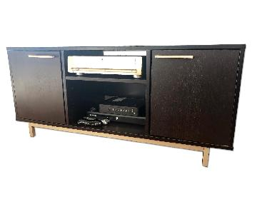 West Elm Wood Media Console