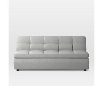West Elm Plateau Armless Sofa