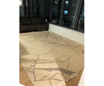 Patterson Flynn Martin Taupe & Grey Wool Area Rug