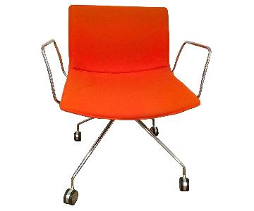 Arper Catifa 46 Eames Style Rolling Office Chair