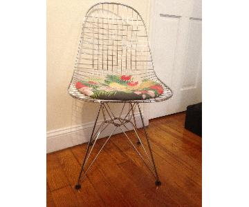 France and Son Custom Eames Style Eiffel Wire Chair