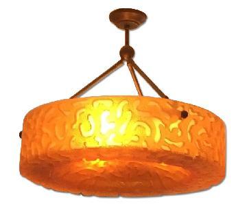 Sirmos Vintage Mid Century Modern Pendant Light Fixture