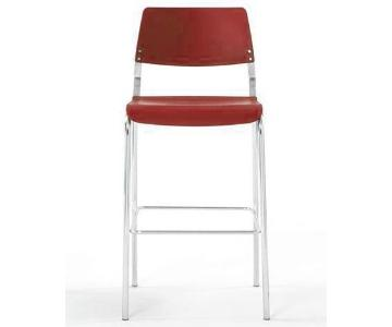 Izzy Plus Arc Pink Barstool