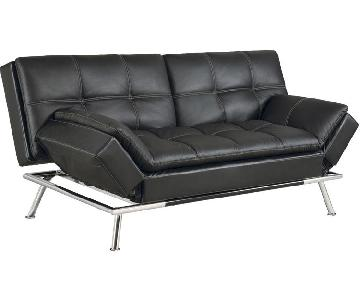 Lifestyle Solutions Serta Matrix Black Sleeper Sofa