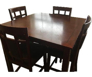 Ashley New Brunswick 4 Piece Counter Height Dining Set