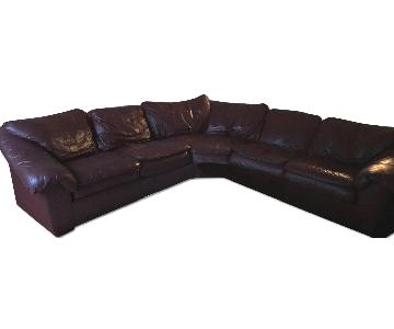 Hancock & Moore Leather 2-Piece Sectional Sofa