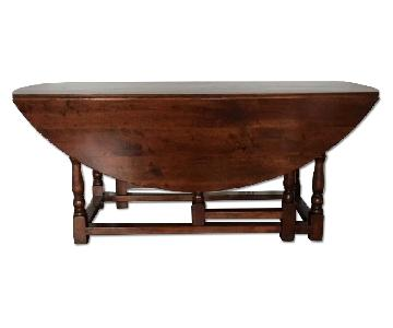 Wood Hand Made Gate Leg Table