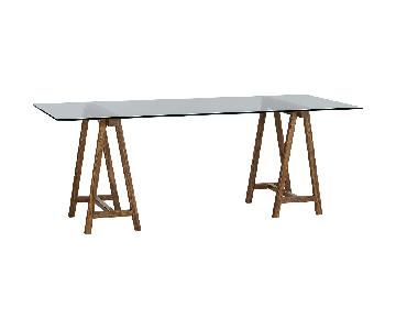 CB2 Foundry Trestle Dining Table/Desk
