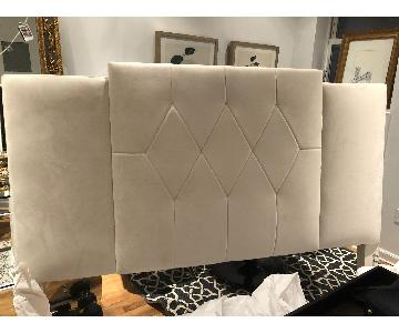 Hickory Chair Custom King Upholstered Headboard