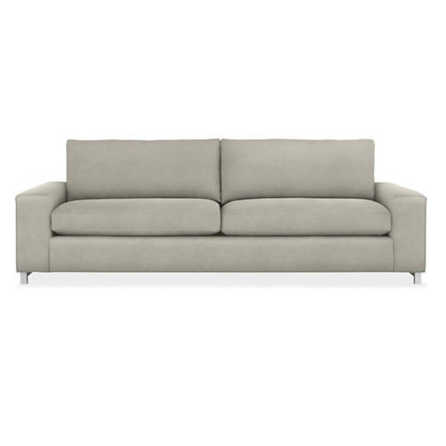 Room Board Klein Grey Fabric Sofa Aptdeco ~ Room And Board Sofa Reviews