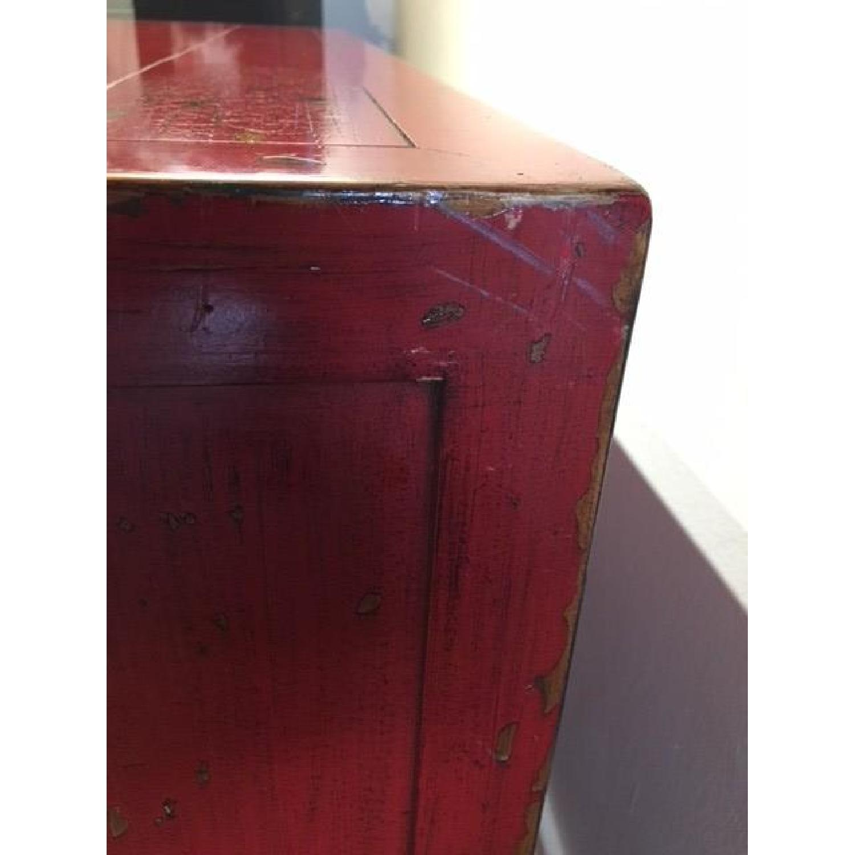... Crate U0026 Barrel Red Media Cabinet 2 ...