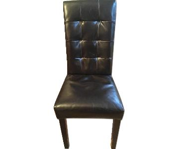 ABC Carpet And Home Faux Leather Dining Chair