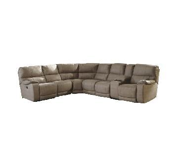Ashley Bohannon Power Reclining Sectional Sofa