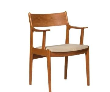 Danish Mid Century Teak Arm Chair