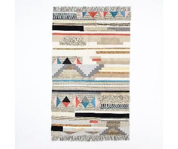 West Elm Boho Textured Wool Area Rug