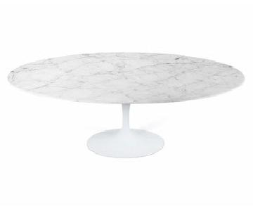 Rove Concepts Calacatta Oval Tulip Table