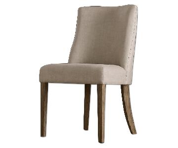 Restoration Hardware 1940s French Barrelback Side Chair