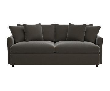 Crate & Barrel Lounge Deep Sofa