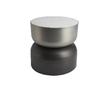 CB2 Silo Metal Side Table