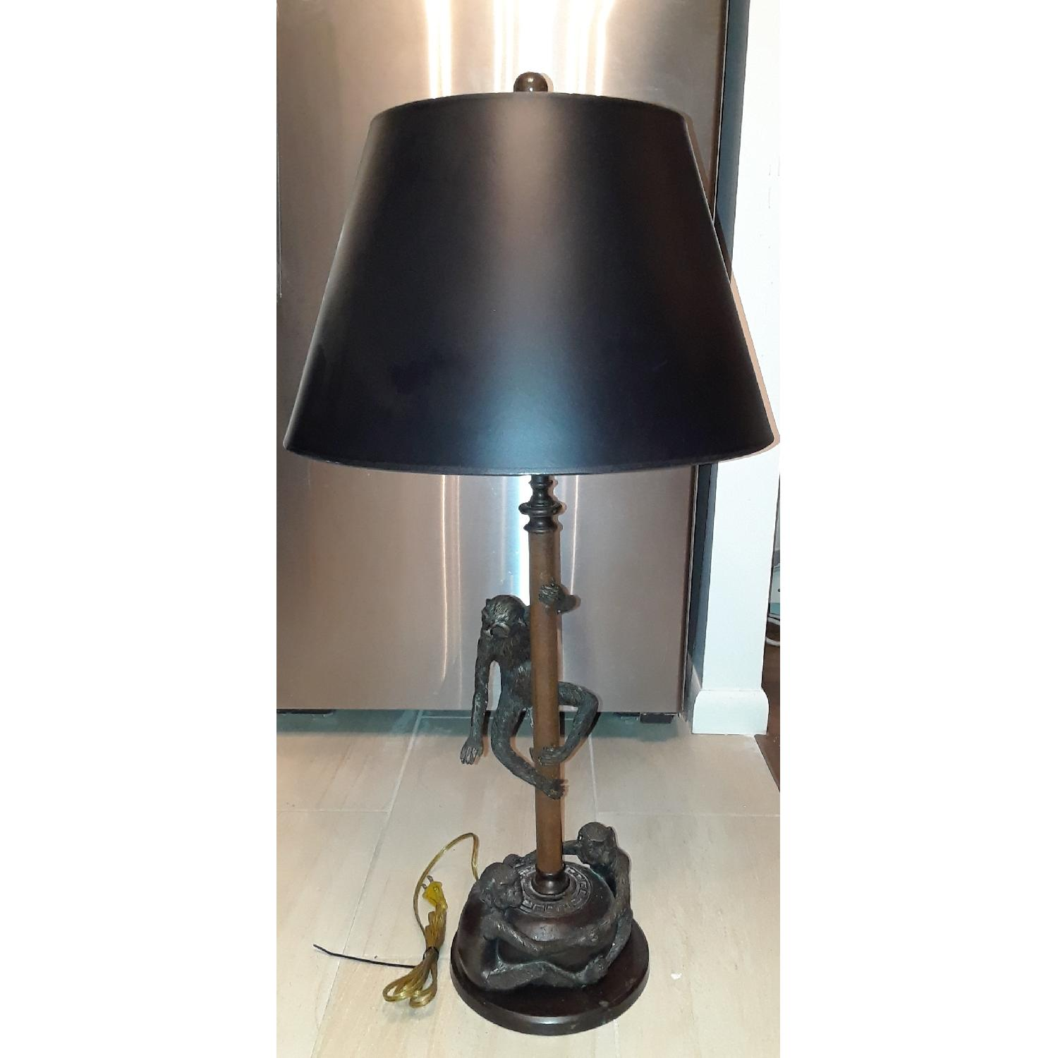 ... Theodore Alexander Monkey Table Lamp 10 ...